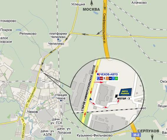 GPS-координаты автосалона