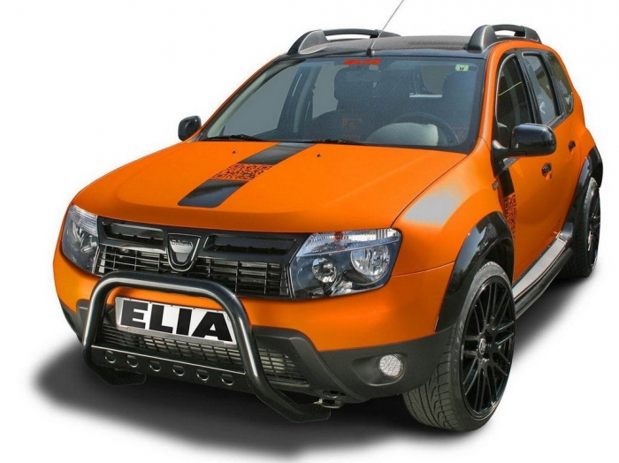 Renault Duster с тюнинг-пакетом Color Concept