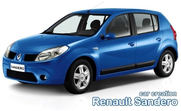 Renault Sandero - Car Creation